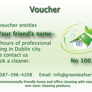 Cleaning Voucher